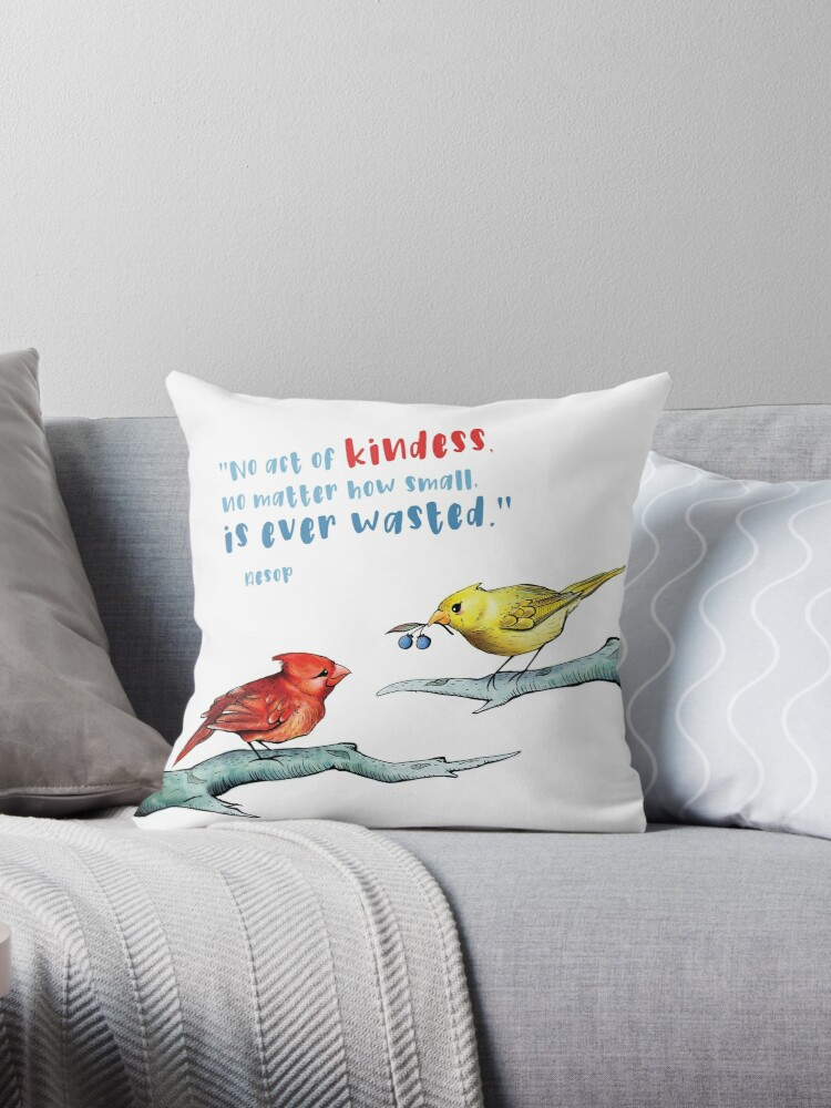 Act Of Kindness Cardinals Inspirational Quotes Animal Lovers