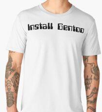 Install Gentoo - Operating Systems - Linux Men's Premium T-Shirt