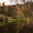 Autumn at Stourhead by miradorpictures