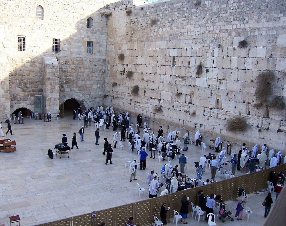 The Wailing Wall by Christopher Warren