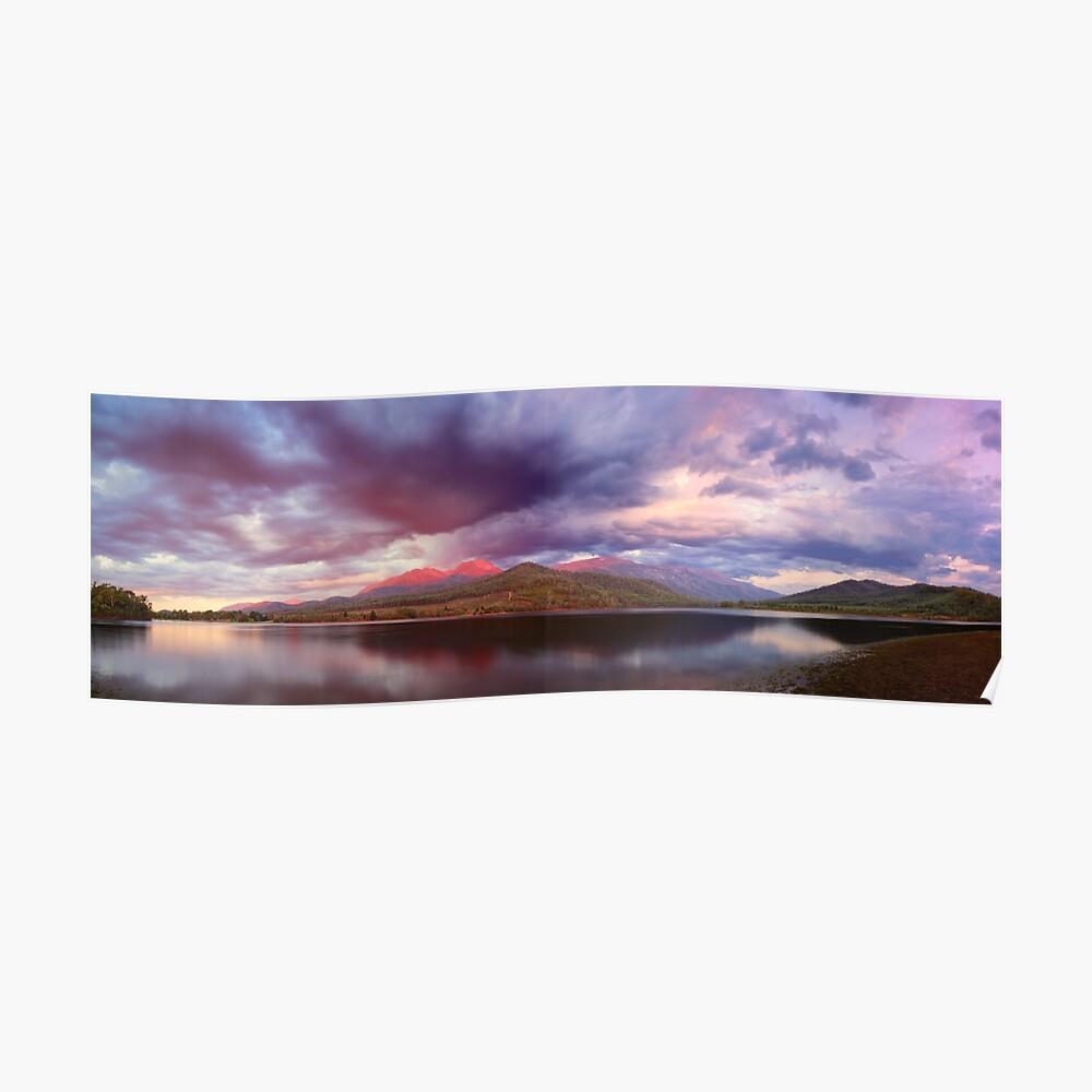 Lake Buffalo Twilight, Victoria, Australia Poster