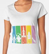 FAB Machines Minimalist Women's Premium T-Shirt