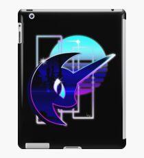 Retrowave Nightmare Nacht iPad-Hülle & Klebefolie