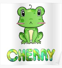 Cherry Frog Poster