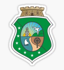 Coat of Arms of Brazilian State of Ceara Sticker