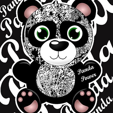 Panda Power T-Shirt Design by yakoo21