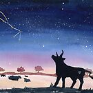 Taurus Dreaming by Justine Lombardi