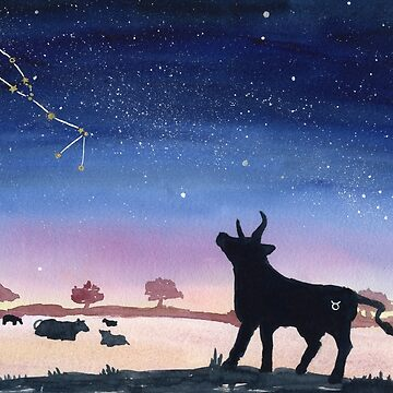 Taurus Dreaming by myartjourney