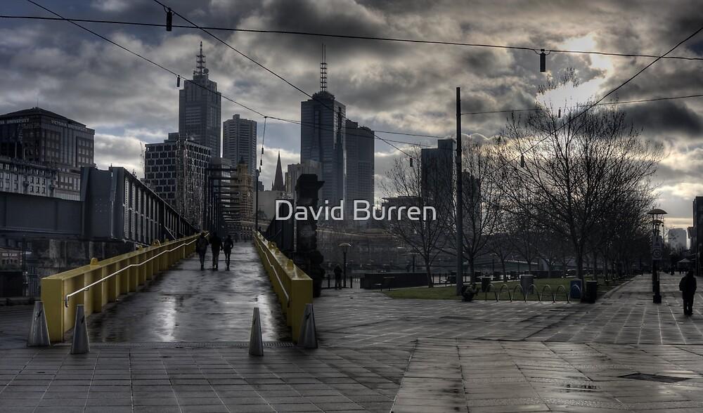 Southbank Dawn by David Burren