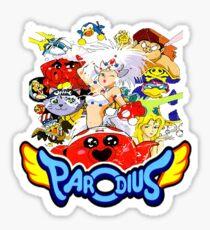 Parodius Sticker