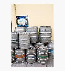 Beer barrels Photographic Print