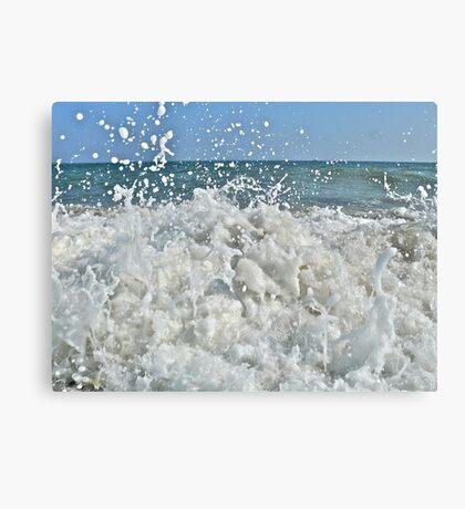 Ocean Spray - Matunuck Beach - Rhode Island Canvas Print