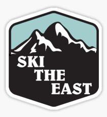 ski the east 2 Sticker