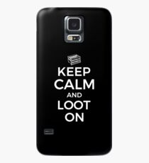 Funda/vinilo para Samsung Galaxy Mantenga la calma y el botín