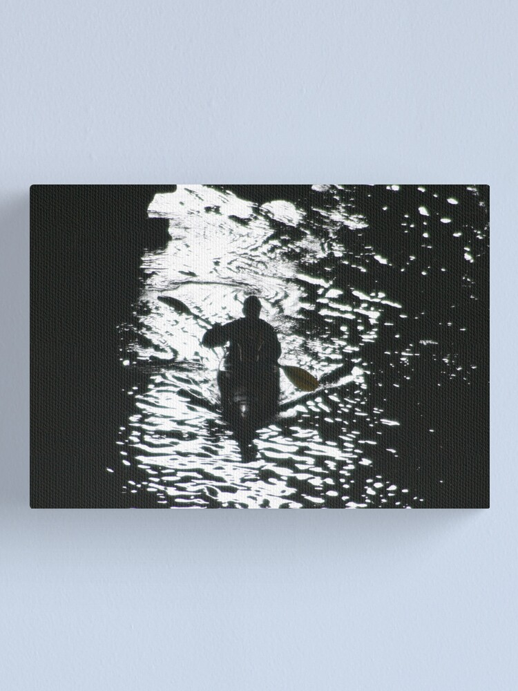 Alternate view of Into the abyss Canvas Print