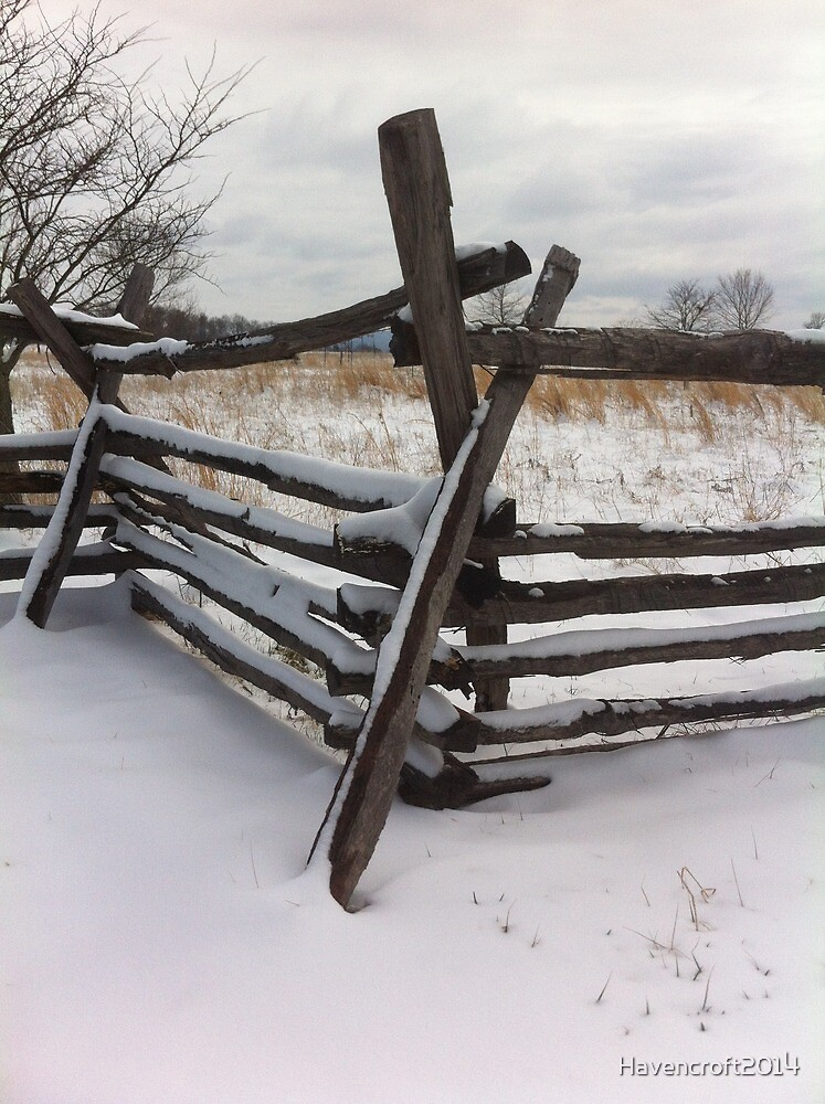 Fredricksburg in Winter by Havencroft2014