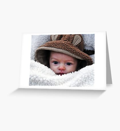 Cold outside Greeting Card