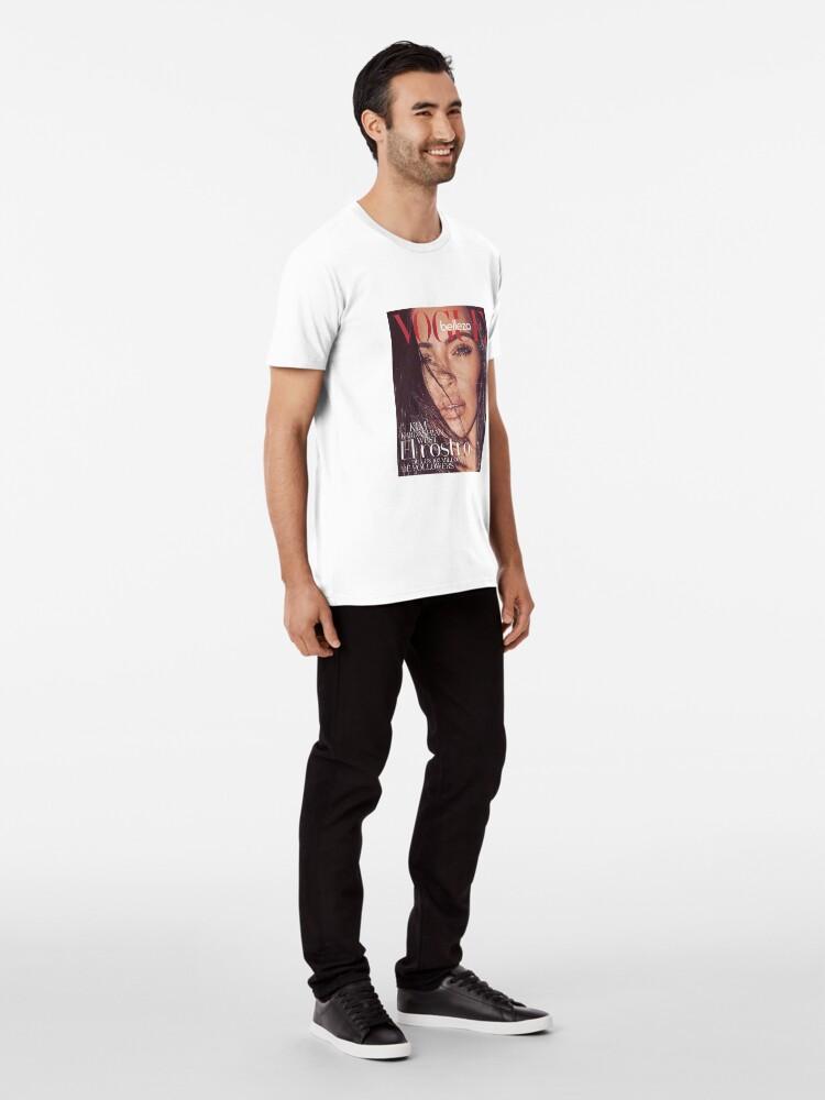 Alternative Ansicht von Kim Kardashian West Instagram Premium T-Shirt