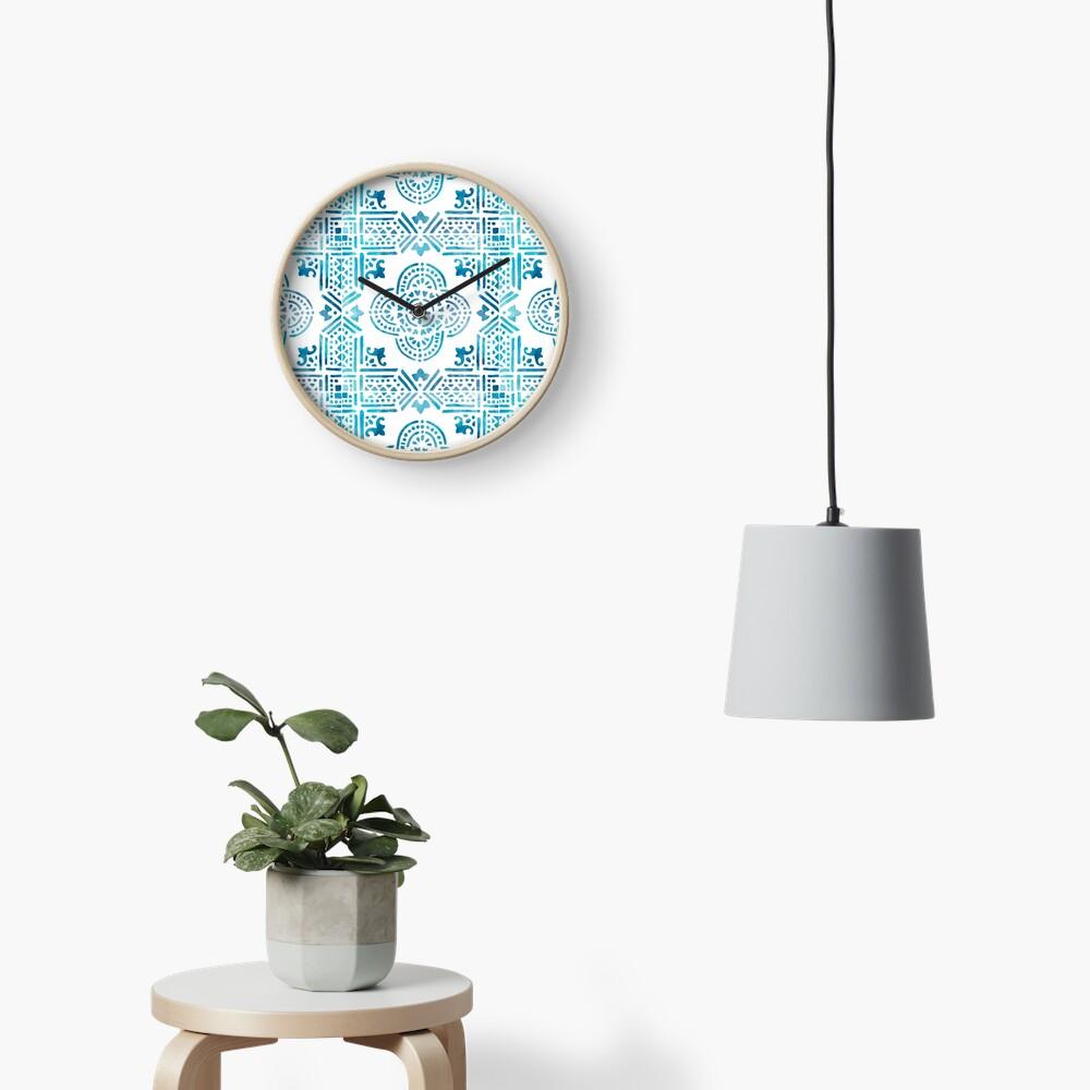 Spanish Tile Clock