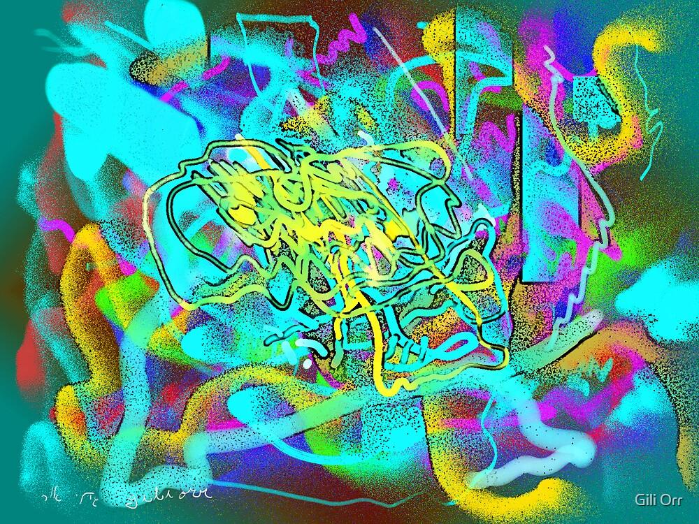 Light blues by Gili Orr