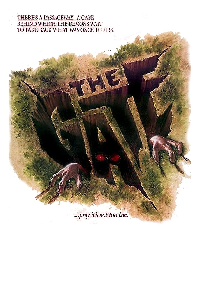 THE GATE  by shawnofthe80s