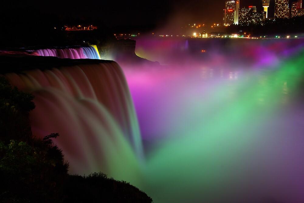 Niagara Falls Multi Color by kenc1959