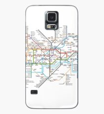 London Underground Map Case/Skin for Samsung Galaxy
