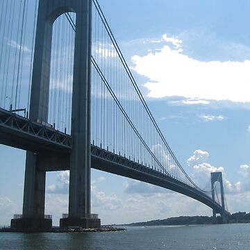 Bridge, Verrazano Narrows Bridge, New York City, #VerrazanoNarrowsBridge, #VerrazanoBridge, #NewYorkCity by znamenski
