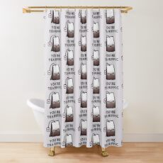 You'r Tea-Riffic Shower Curtain