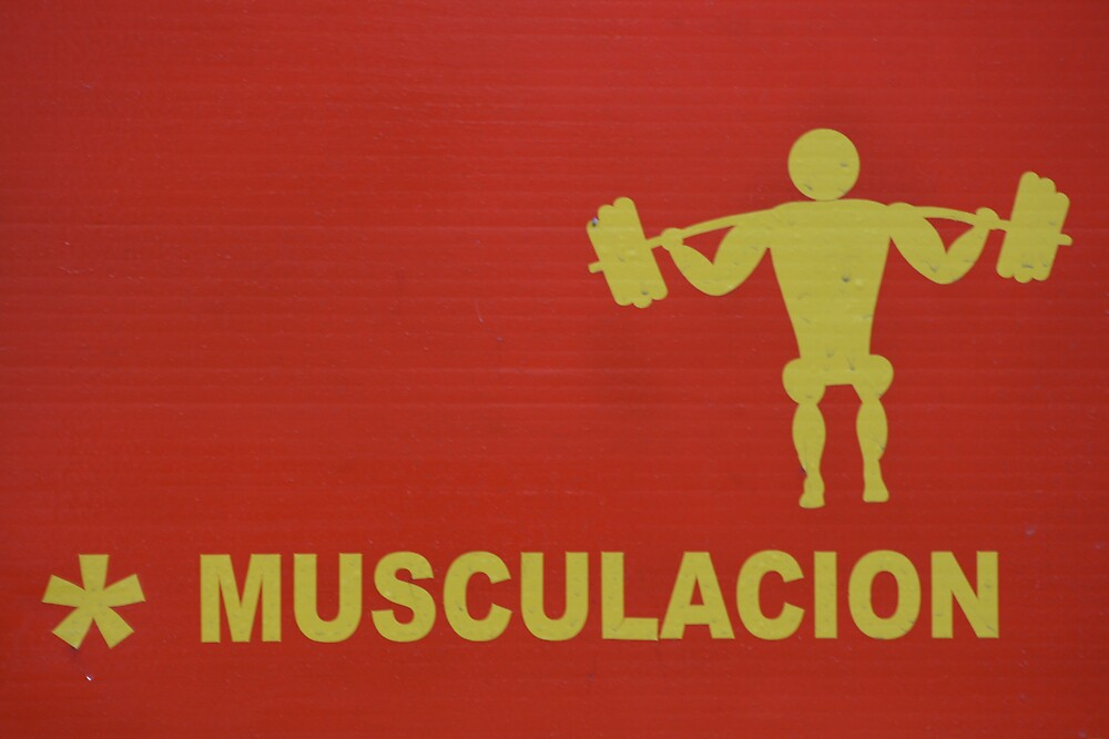 sign in Buenos Aires, Argentina by Willie Baronet