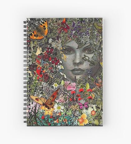 Daisy's Hiding Spiral Notebook