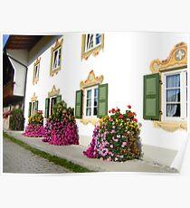 Farmhouse in Upper Bavaria Poster