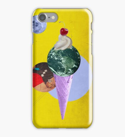 Color Chaos Collection -- Earth Cone iPhone Case/Skin