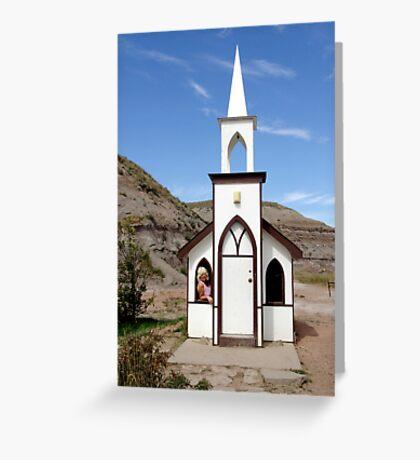 The Little Church Greeting Card