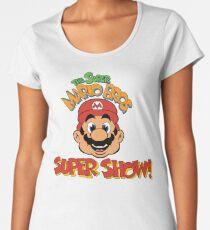 ¡Super Mario Bros. Super Show! Camiseta premium para mujer