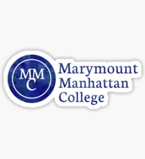 Manhattan Marymount College Stickers Redbubble