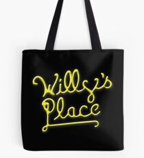 Willy's Place Tote Bag