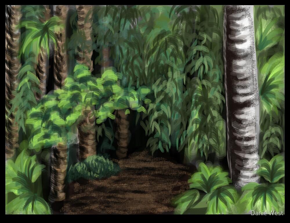 Jungle Background by Danie West