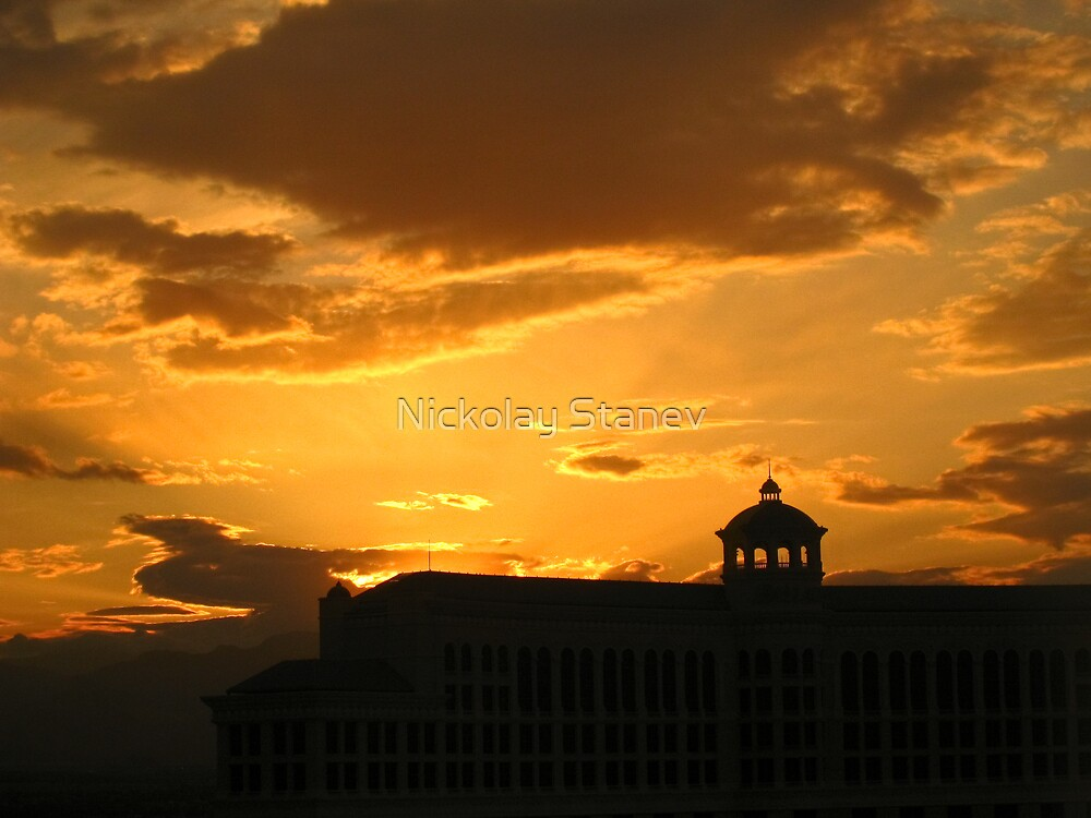 Bellagio Silhouette by Nickolay Stanev
