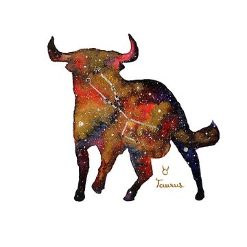 Taurus Charging by myartjourney