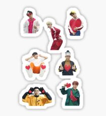 BTS gogo hearts from MBC NYE Sticker