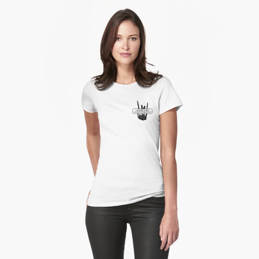 Punk Rock Womens T-Shirt Front