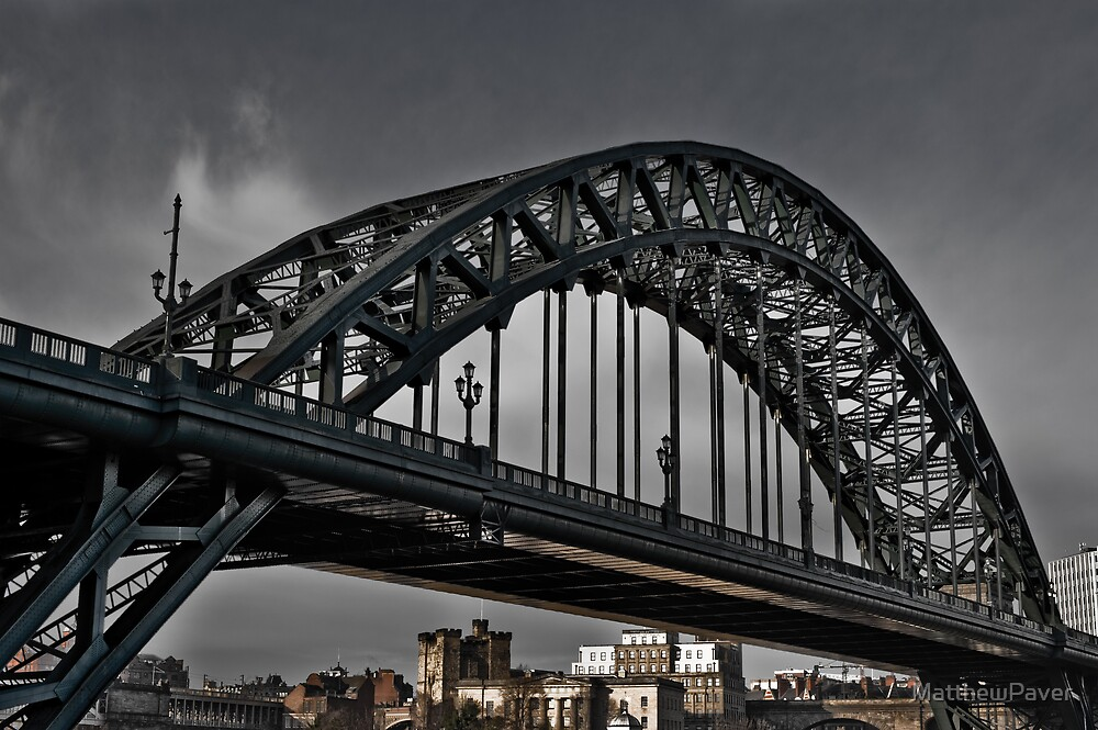 Bridge in Newcastle by MatthewPaver