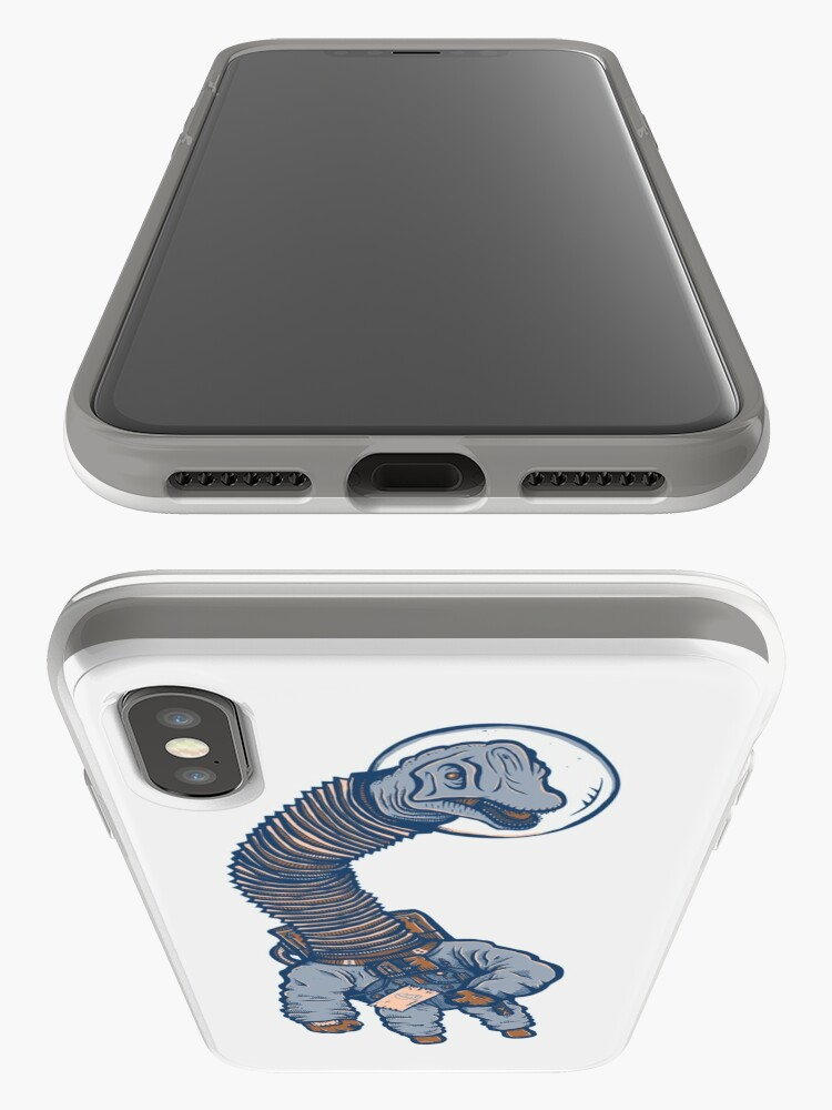Vista alternativa de Funda y vinilo para iPhone Astro Brachiosaurus