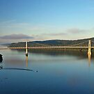 Mid Hudson Bridge at Sunrise by Colleen Drew