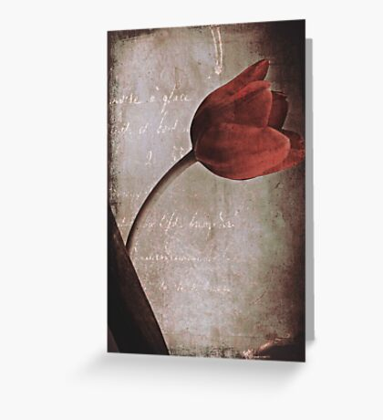 i will wait forever~ Greeting Card