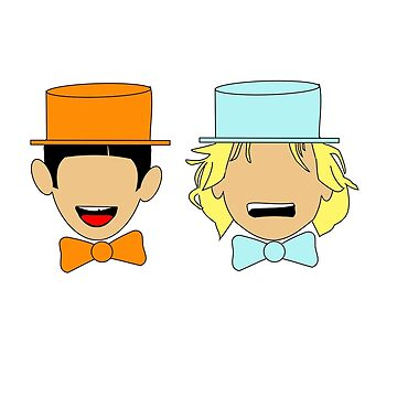 Harry and Lloyd by rubynibur