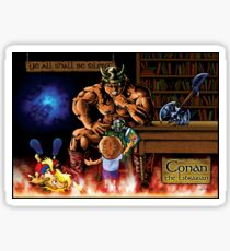 Conan the Librarian Sticker