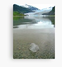 Glacier IceCube Canvas Print