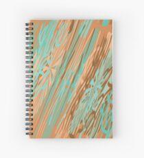 STUDY IN VERDIGRIS Spiral Notebook